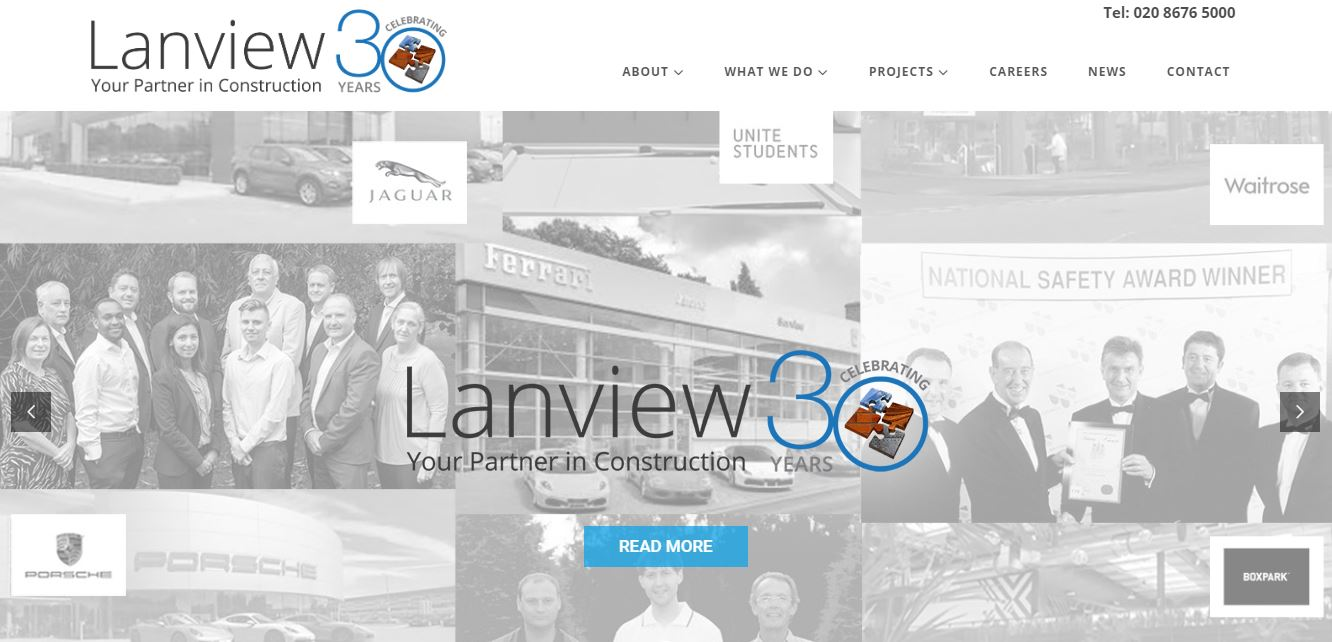 Lanview construction